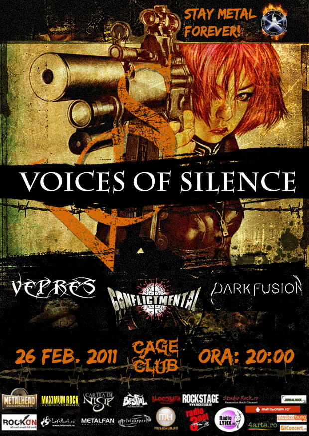 Concert Voices of Silence, Vepres, Conflict Mental si Dark Fusion Vos_in_cage